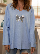 Load image into Gallery viewer, Long Sleeve Beaded Cotton Shirts & Tops