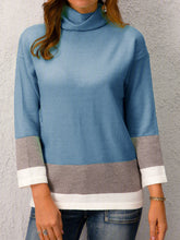 Load image into Gallery viewer, Long Sleeve Turtleneck Sweater