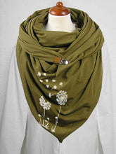 Load image into Gallery viewer, Dandelion print casual scarf