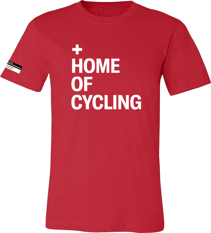 Tshirt Home of Cycling Red