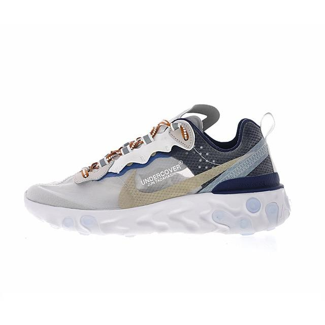 2018 New Original Authentic UNDERCOVER x Nike Upcoming React Element 87 Women's Comfortable Running Shoes Sneakers AQ1813-341 - Cadeau Me