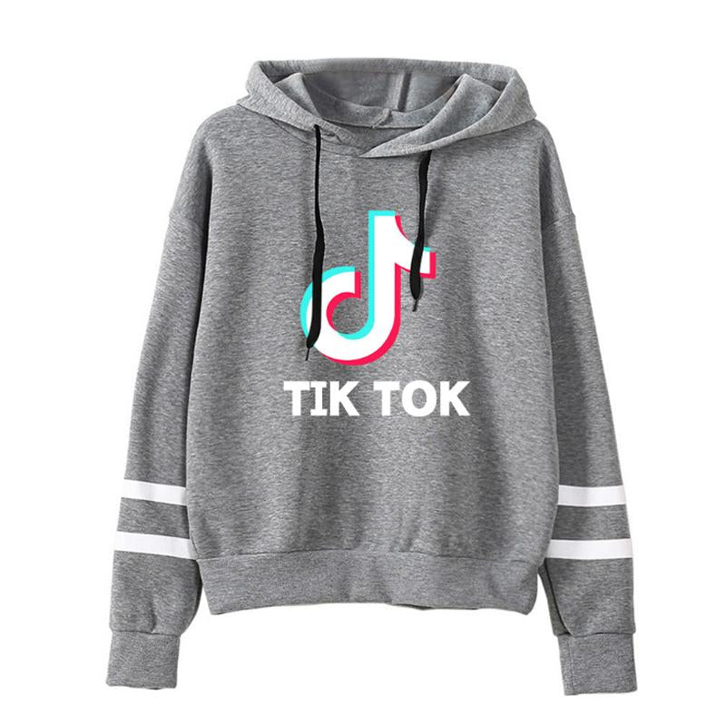 Tik Tok Men Women Casual Sports Hooded Long Sleeves - Cadeau Me