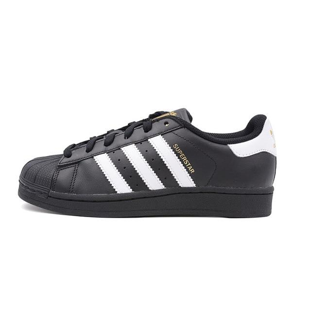 Adidas Official SUPERSTAR Original New Arrival Clover  Men's Skateboarding Shoes Sport Outdoor Sneakers Good Quality