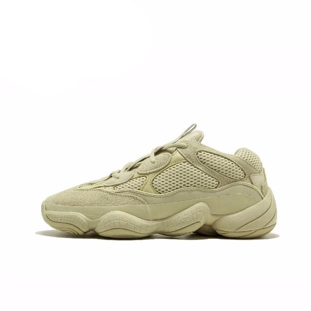 "Adidas Yeezy 500 Unisex Running Shoes Original New Arrival Official Utility White DB2966 ""U Breathable Sport Outdoor Sneakers"
