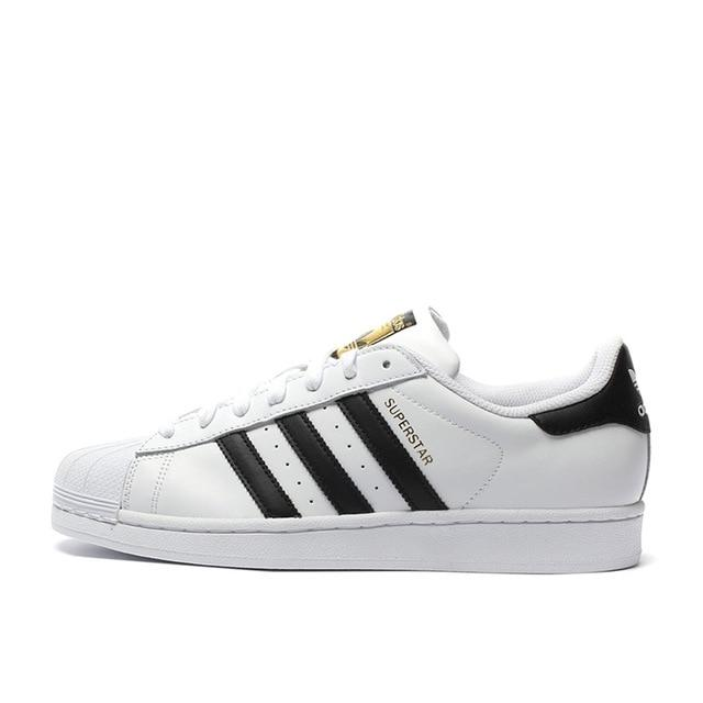 Authentic Adidas Originals Superstar Classics Unisex Men's and Women's Breathable Skateboarding Shoes Sneakers New Arrival