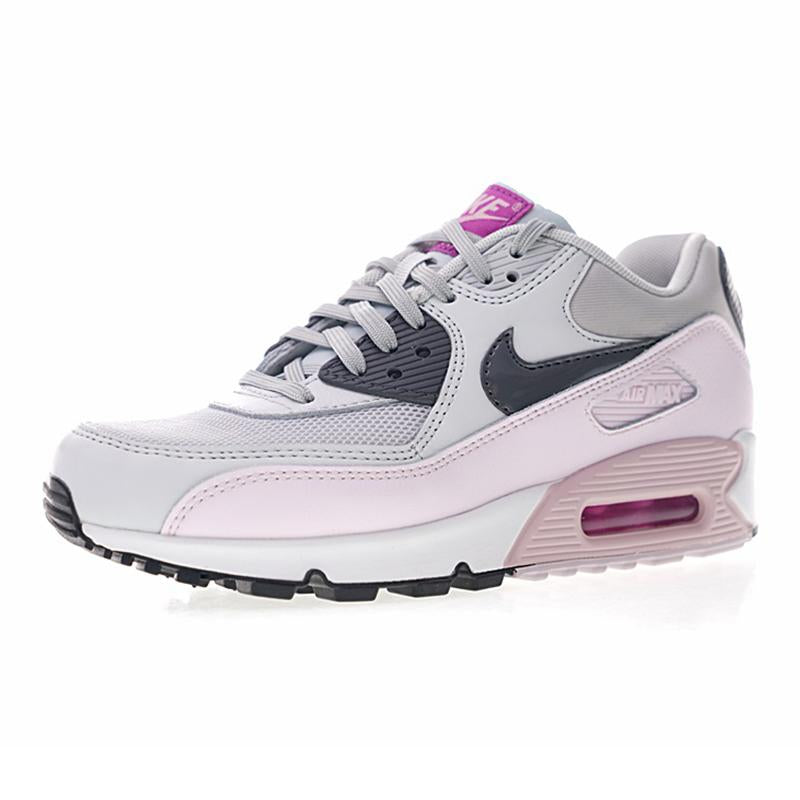 Original Authentic Nike Air Max 90 Women's Running Shoe Sports Outdoor Breathable Sneakers Footwear Designer Athletic 616730 112