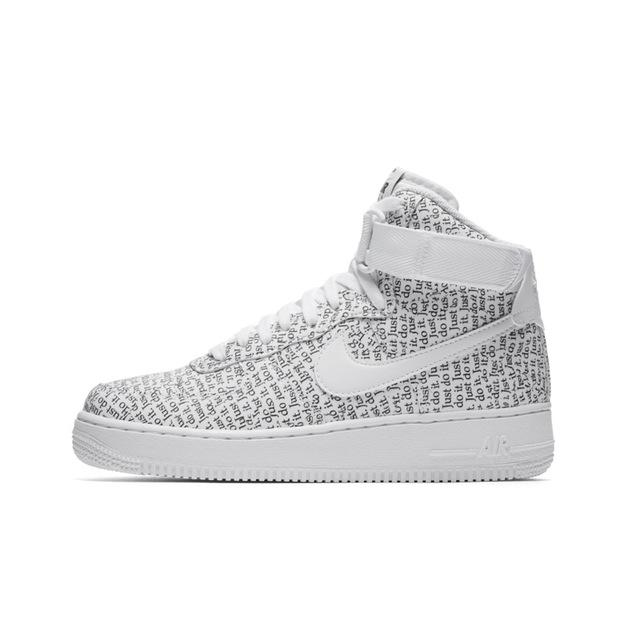 NIKE AIR FORCE 1 HI LX AF1 JDI Woman Skateboarding Shoes New Arrival High Help Comfortable Anti-Slippery Sneakers #AO5138