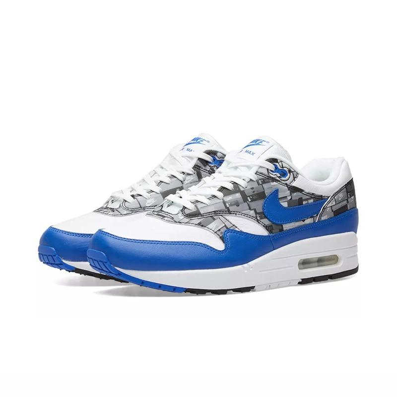 NIKE AIR MAX 1 PRINT WE LOVE NIKE ATOMS Running Shoes Sneakers Sports for Men AQ0927-100 40-45