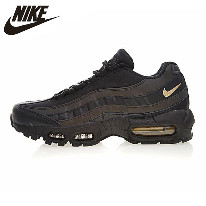 NIKE AIR MAX 95 Original New Arrival Men Outdoor Running Shoes Breathable Non-slip Heightened Sneakers #924478-003