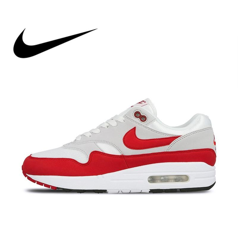 Nike AIR MAX 1 ANNIVERSARY Mens Running Shoes Sport Outdoor Sneakers Athletic Designer Footwear 2019 New Arrival 908375-103