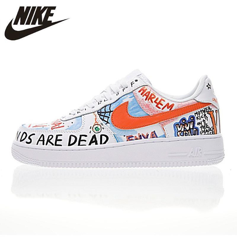 Nike Air Force 1 New Arrival Men's Skateboarding Shoes Non-slip Lightweight Waterproof Outdoor Sports Sneakers #923088-100