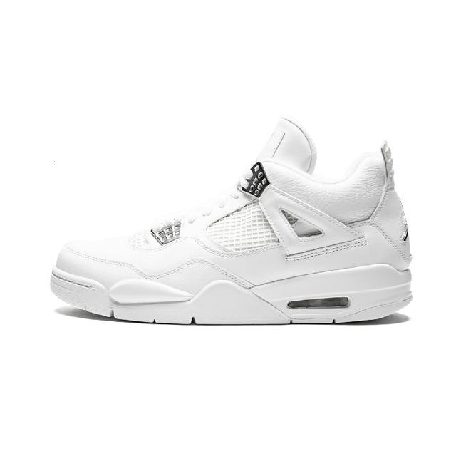 Nike Air Jordan 4 Retro Original New Arrival Men Basketball Shoes Breathable Outdoor Sports Sneakers #308497/408202