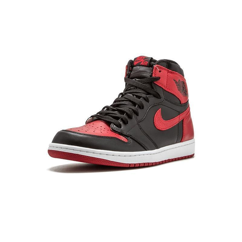 Nike Air Jordan1 Retro High Og AJ1 New Arrival Men's Basketball Shoes  Original Breathable Sports Sneakers #555088-001