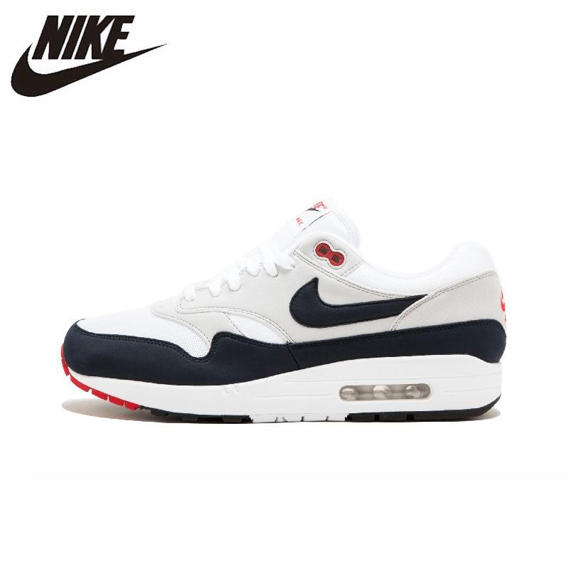 Nike Air Max 1 OG New Arrival Original Men's Running Shoes Breathable Anti-slippery Outdoor Sneakers #908375-100