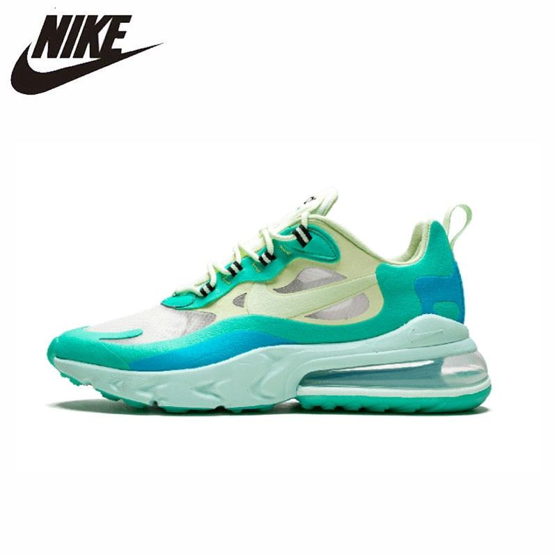 Nike Air Max 270 React Original New Arrival Men Running Shoes Air Cushion Outdoor Sports Lightweight Sneakers #AO4971