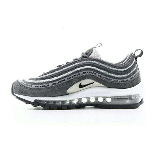 Nike Air Max 97 New Arrival Woman Running Shoes Orange  Air Cushion Restore Ancient Ways Leisure Sneakers #921733-801