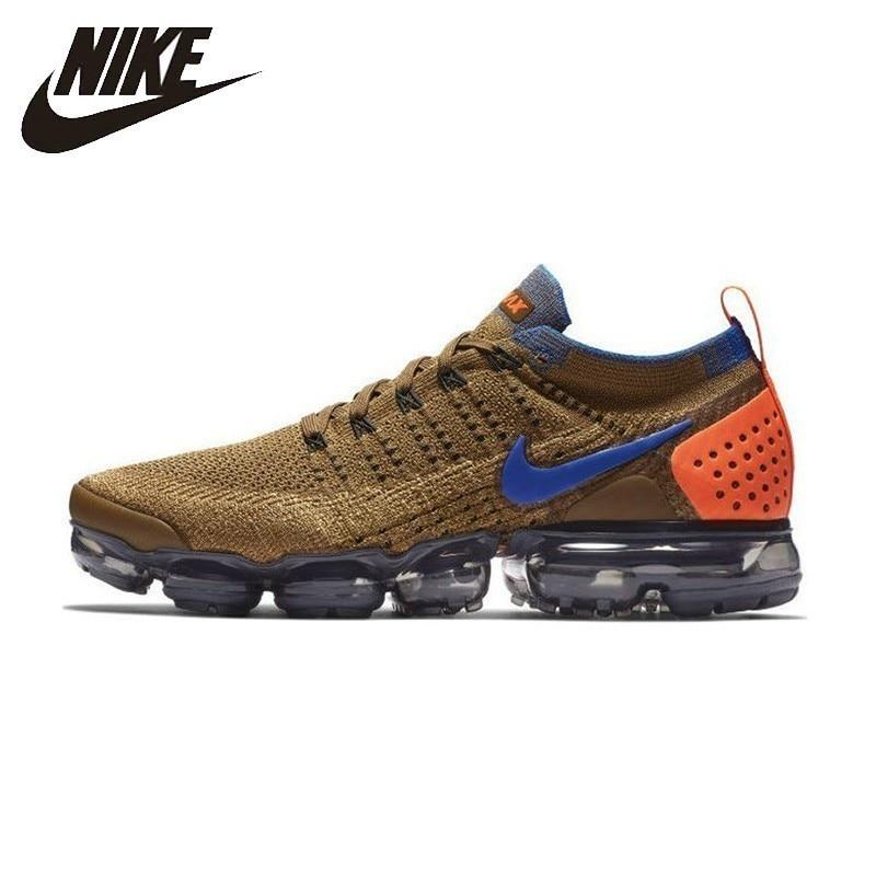 Nike Air Vapormax Flyknit New Arrival  Men Running Shoes Breathable Comfortable Non-slip Sneakers #942842-203/700 AT8955-013