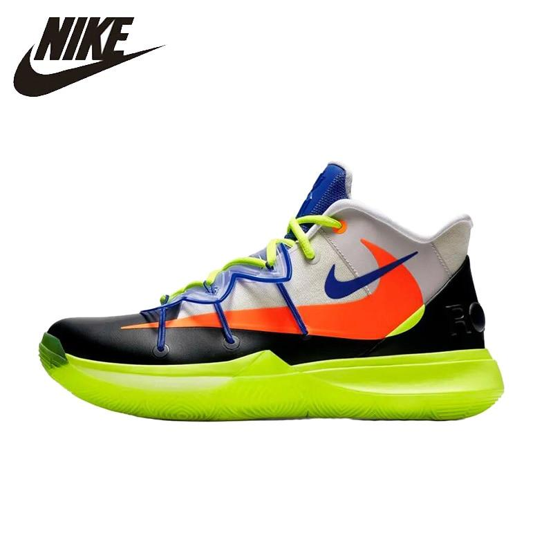 Nike  Kyrie 5 Erwin 5 Man Basketball Shoe Breathable Anti-slip Sports Sneakers AO2919