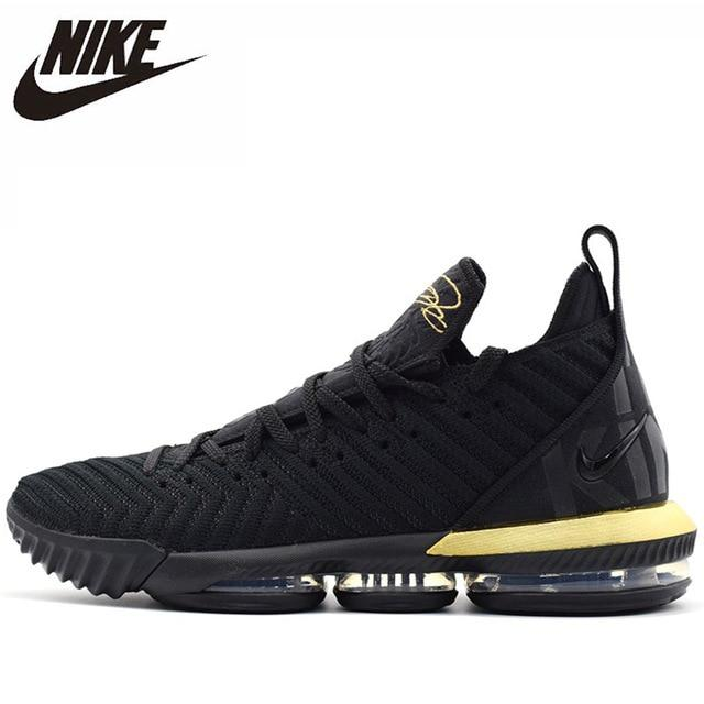 Nike Lebron 16  Four Horsemen Original New Arrival Men Basketball Shoes Breathable Comfortable Outdoor  Sneakers #BQ5970-007