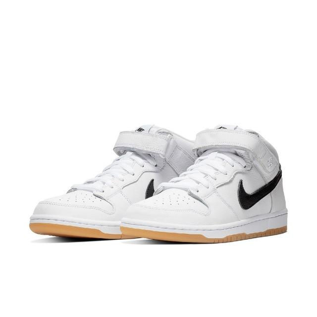Nike Sb Dunk Mid Pro ISO Men Skateboarding Shoes Casual Hard-Wearing Breathable Shoes #CD6754