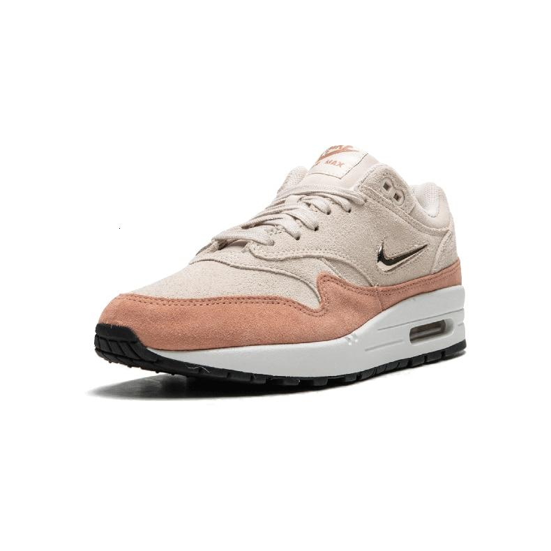 Nike W Air Max 1 Premium SC  Original New Arrival Women Running Shoes Breathable  Lightweight Sports Sneakers #AA0512-800