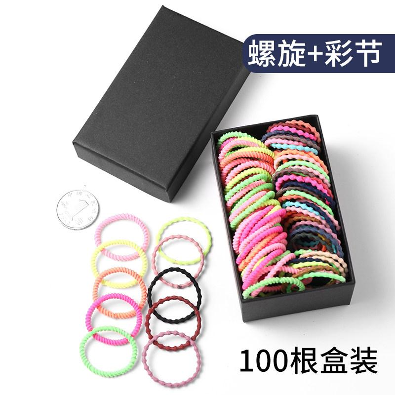 Head rope child hair rope baby small leather band does not hurt hair rubber band hair decorated Korean girl small hair ring