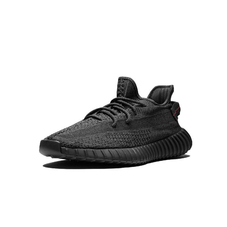Adidas Yeezy Boost 350 V2Black Angel Black Soul Hollow Black Coconut Running Shoe FU9006