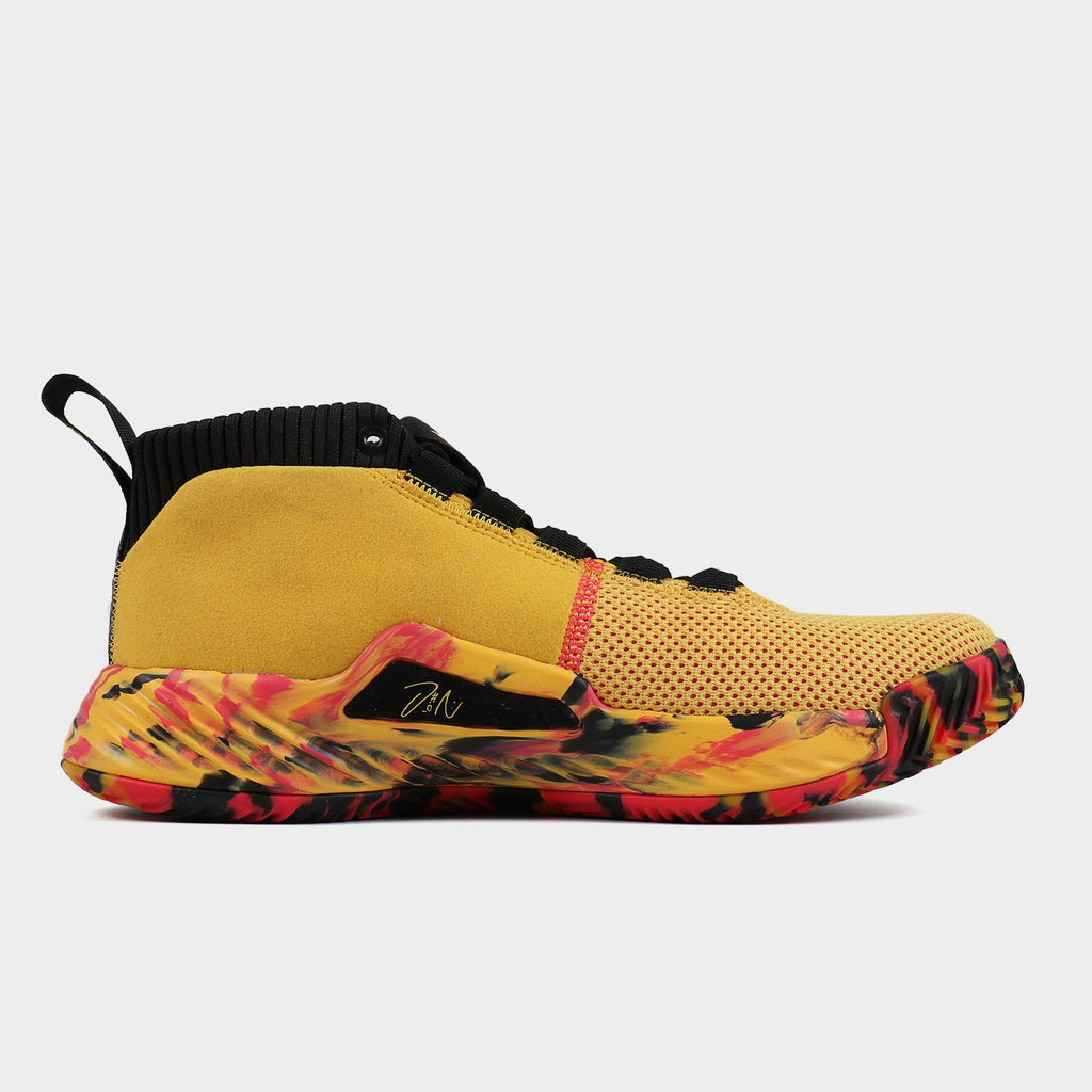 Adidas Spring Male Dame 5 Lillard CNY Chinese New Year Combat Basketball Shoe EE4046 EE4047