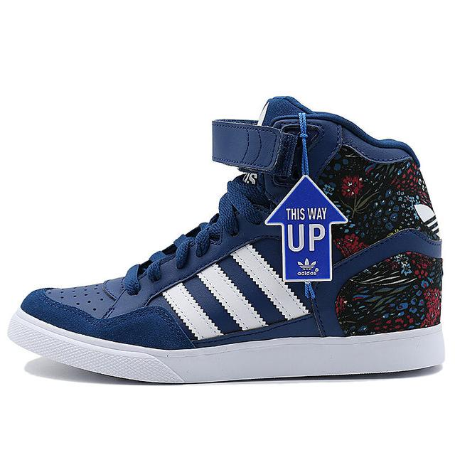 Official Adidas Originals Women's Skateboarding Shoes Sports Sneakers Female High Top Leisure Outdoor Brand Design Good S75790