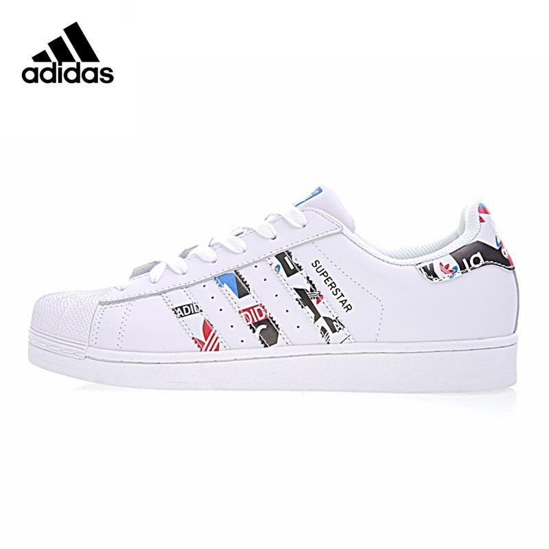 Original Adidas SUPERSTAR Sneakers Men Women Skateboard Shoes Classic Breathable Shoes Cotton Fabric Sports Shoes - Cadeau Me