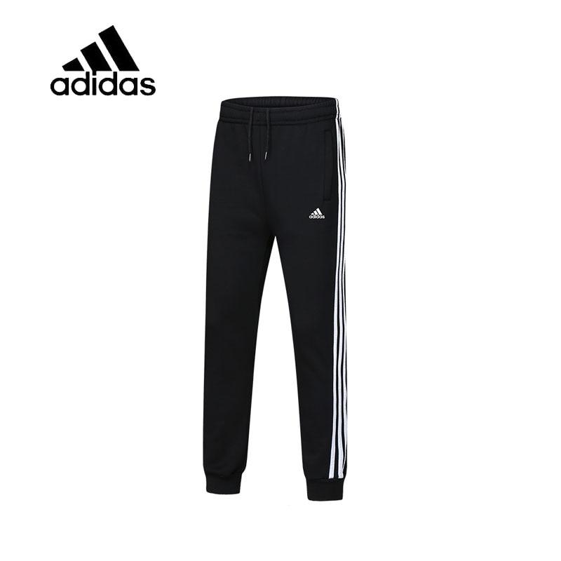 Original Adidas Sweatpants Male Black Leisure Sportswear Men's Full Length Running Pants New Arrival Authentic Breathable Quick - Cadeau Me