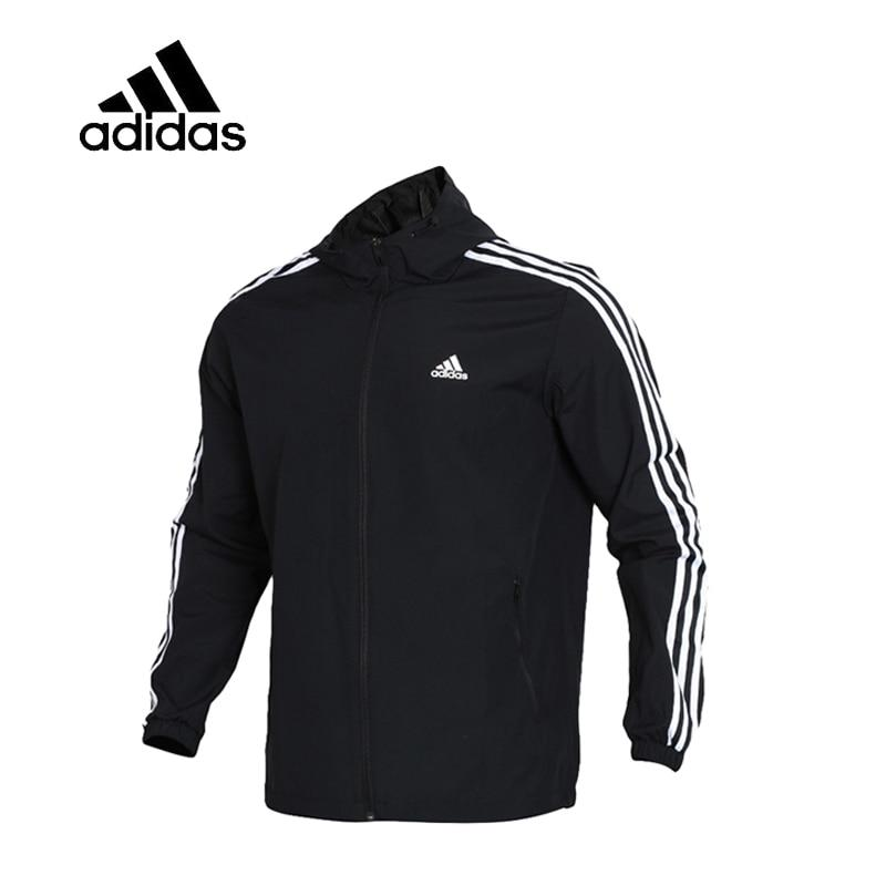 Original  Adidas WB MESH BOND 3S Men's Running Jacket New Arrival Authentic Sportswear Male Coat Windbreaker Breathable Leisure - Cadeau Me