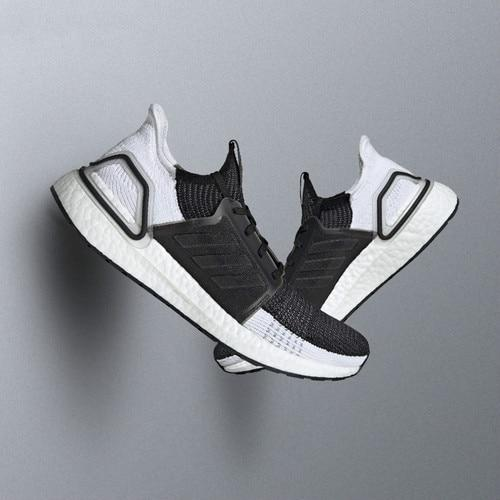 Original Authentic Adidas UltraBoost 19 UB19 Unisex Sneakers Wear Running Shoe Breathable 2019 Spring New Leisure Lace-Up B37705 - Cadeau Me