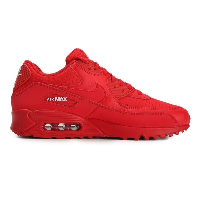 Original Authentic NIKE AIR MAX 90 ESSENTIAL Men's Running Shoes Sport Outdoor Sneakers Athletic Designer Footwear AJ1285-602