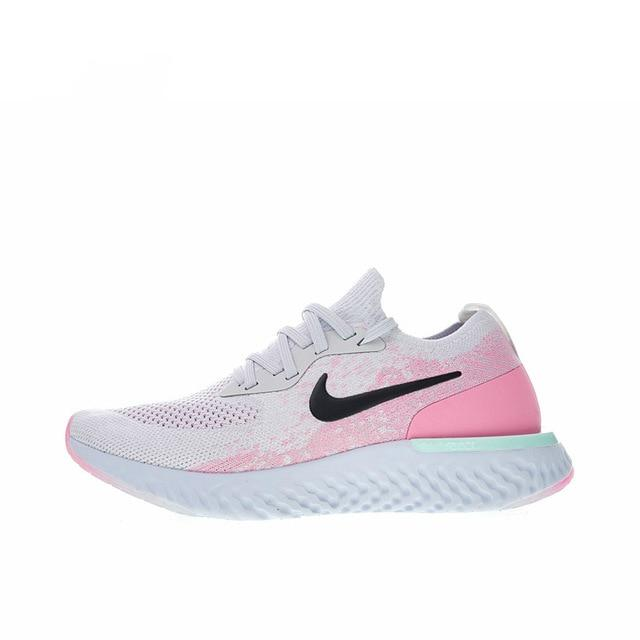 Original Authentic NIKE EPIC REACT FLYKNIT Womens Running Shoes Sneakers Breathable Sport Outdoor Good Quality  Leisure Classic