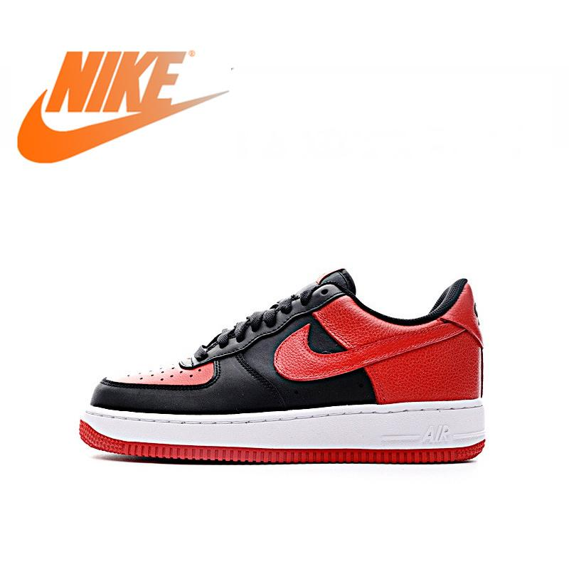 Original Authentic Nike Air Force 1 Low Men's Skate Shoes Sports Outdoor Sports Shoes Comfortable Fashion New 820266-009 - Cadeau Me