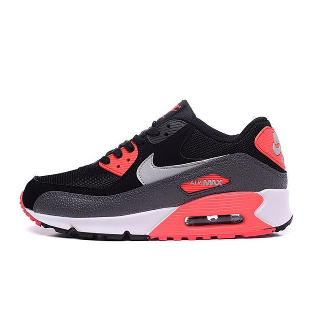 Original Authentic Nike Air Max 90 Essential Men's Running Shoes Sport Outdoor Breathable Sneakers 2018 New Arrival 537384-090