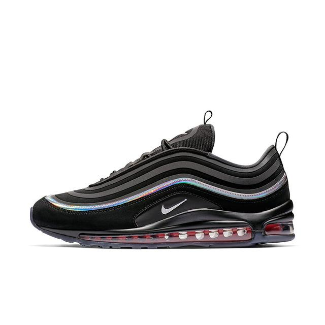 Original Authentic Nike Air Max 97 Men's Running Shoes Sports Outdoor Sports Shoes Shock Absorption Quality BV6666-106