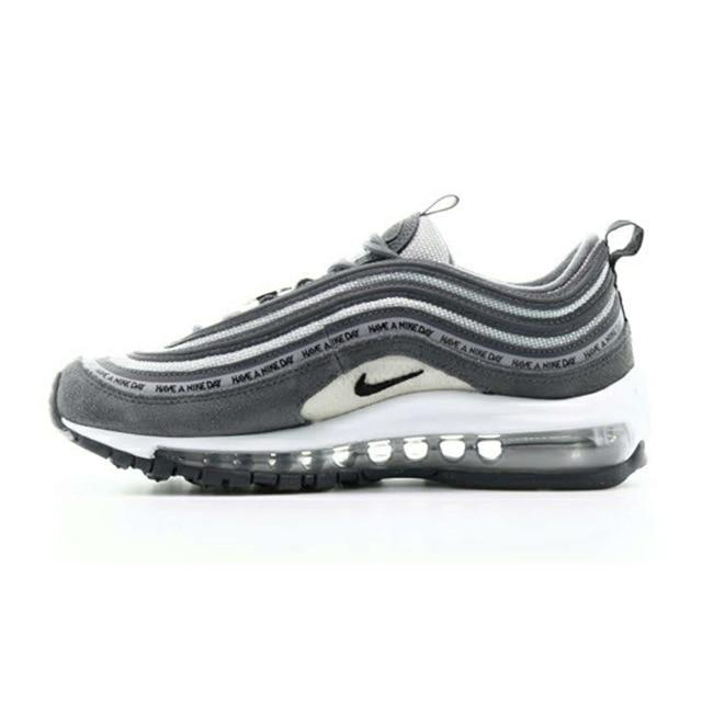 Original Authentic Nike Air Max 97 Women's Running Shoes Sports Outdoor Sneakers Shock Absorbing Designer Training AV3181-500