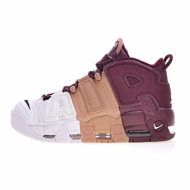 Original Authentic Nike Air More Uptempo Men's Running Shoes Sneakers Classic Outdoor Sports Breathable Designer 921948-040