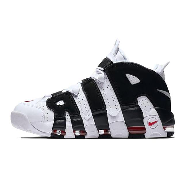 Original Authentic Nike Air More Uptempo OG Men's Basketball Shoes Sport Outdoor Sneakers Athletic Designer Footwear AA4060-200