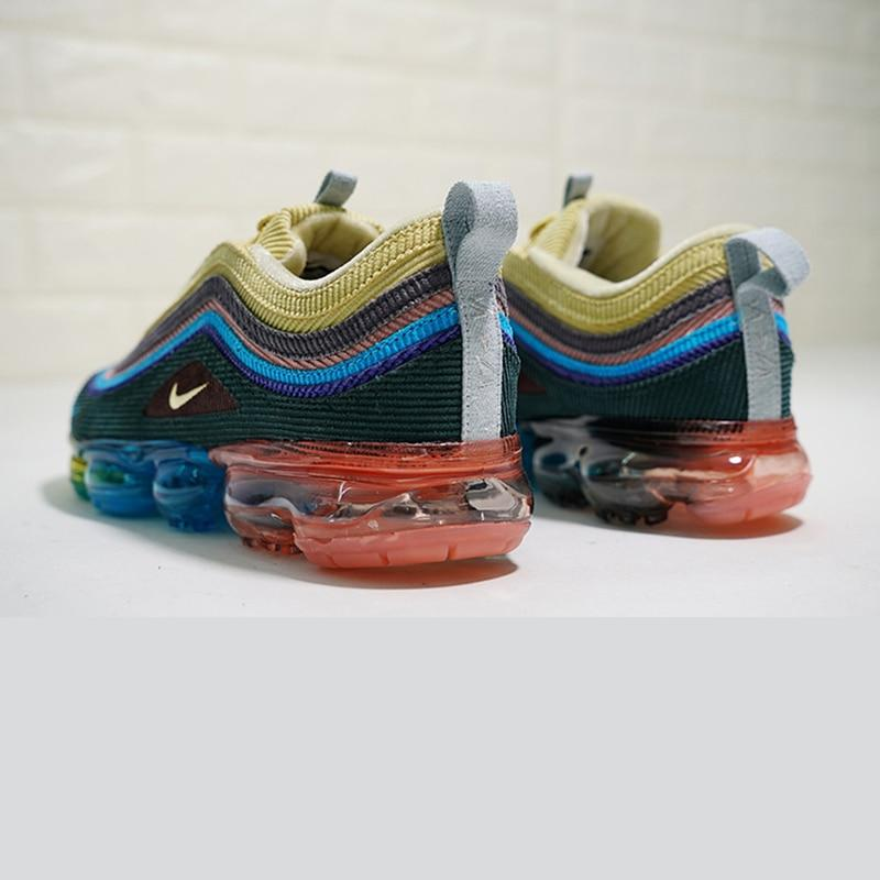 Original Authentic Nike Air VaporMax 97 VF SW Hybrid x Sean Wotherspoon Women's Running Shoes Sneakers 2018 New Arrival Athletic