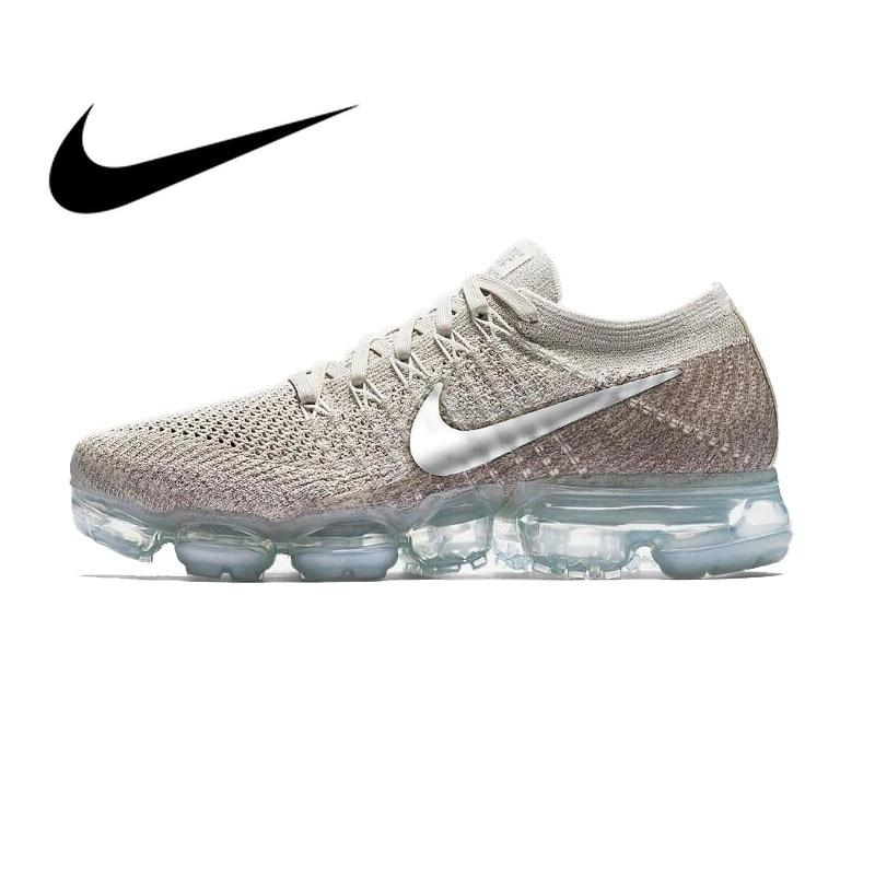 Original Authentic Nike Air VaporMax Flyknit Women's Running Shoes Sneakers Athletic Designer Footwear 2018 New Low Top 849557
