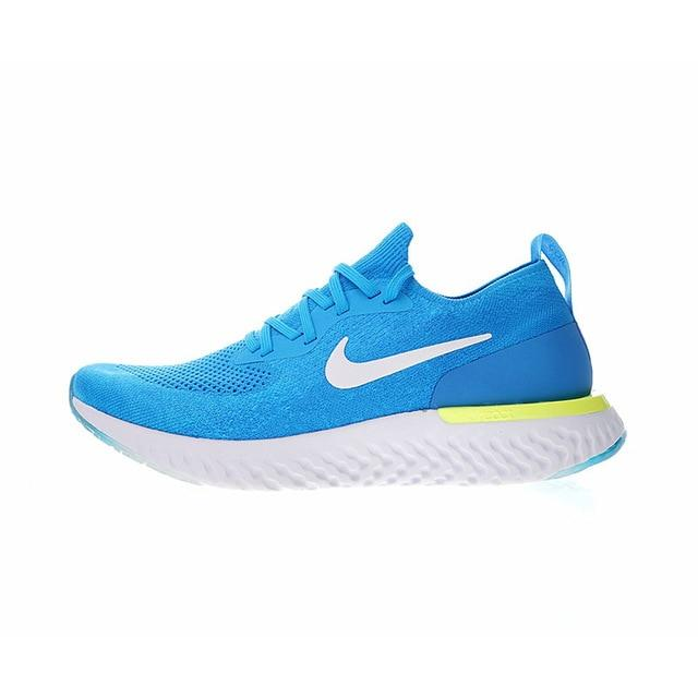 Original Authentic Nike Epic React Flyknit Men's Breathable Running Shoes Sport Outdoor New Sneakers for Athletic AQ0067-004