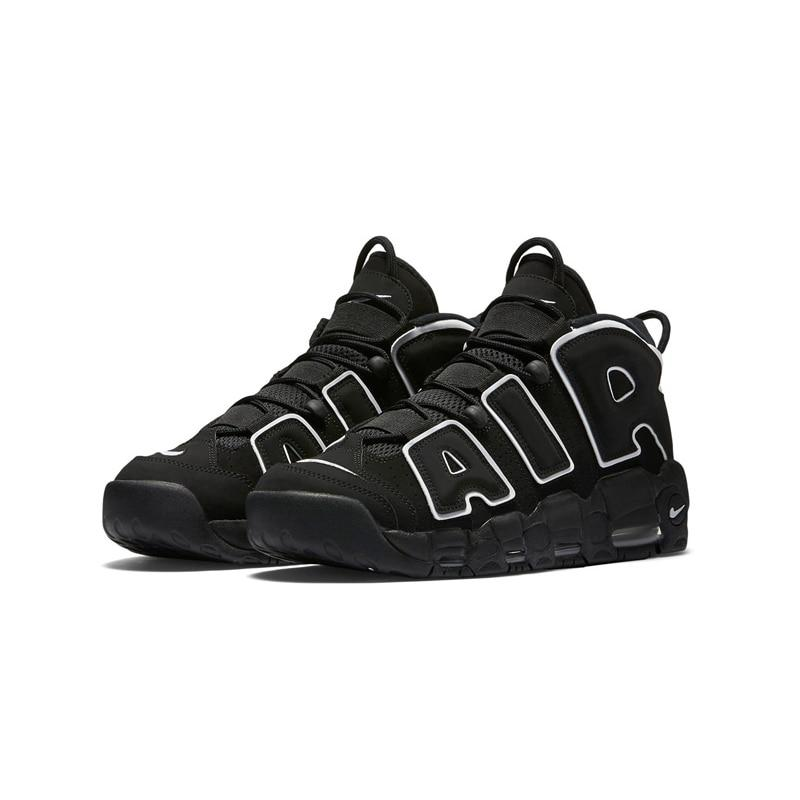 Original Authentic Nike Max Air More Uptempo Men's Breathable Basketball Shoes Sports Sneakers Outdoor Medium Cut Shoes - Cadeau Me