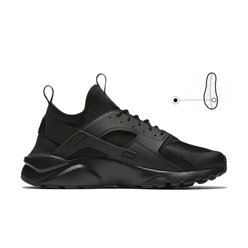 Original NIKE AIR HUARACHE RUN ULTRA Men's Breathable Running Shoes Sneakers Classic Tennis Shoes Outdoor Comfortable Durable - Cadeau Me