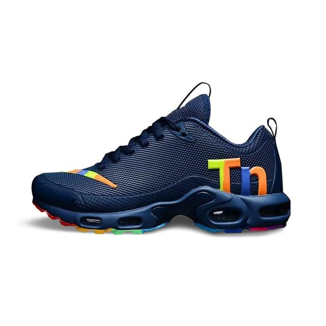 Original NIKE AIR MAX PLUS TN Men's Running Shoes Non-slip Sports Lightweight Sports New Arrival Outdoor Sneakers