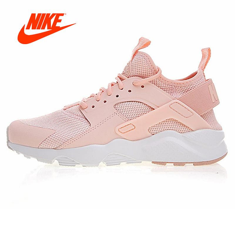 Original New Arrival Authentic NIKE AIR HUARACHE Wallace Fly Line Women's Breathable Running Shoes Outdoor Sneakers 833147-801 - Cadeau Me