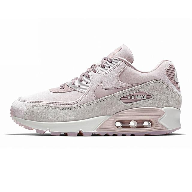 Original New Arrival Authentic NIKE AIR MAX 90 LX Women's Running Shoes Sport Outdoor Sneakers Good Quality 898512-600 - Cadeau Me