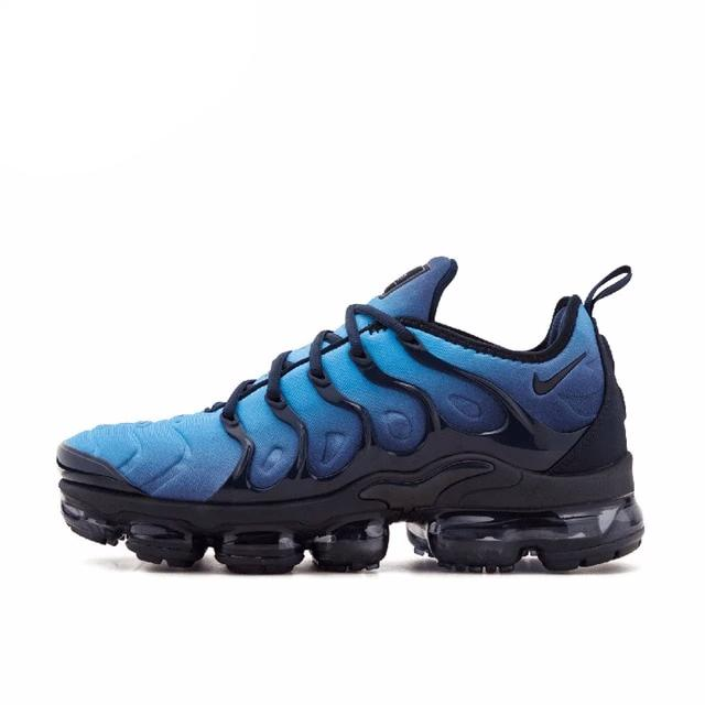 Original New Arrival Authentic NIKE AIR VAPORMAX PLUS Men's Breathable Running Shoes Sport Outdoor Sneakers 924453-005